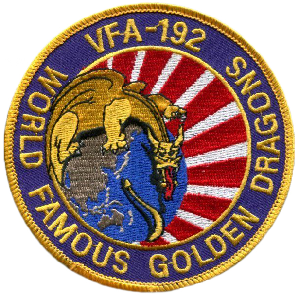 VFA-192 Golden Dragons - 1986
