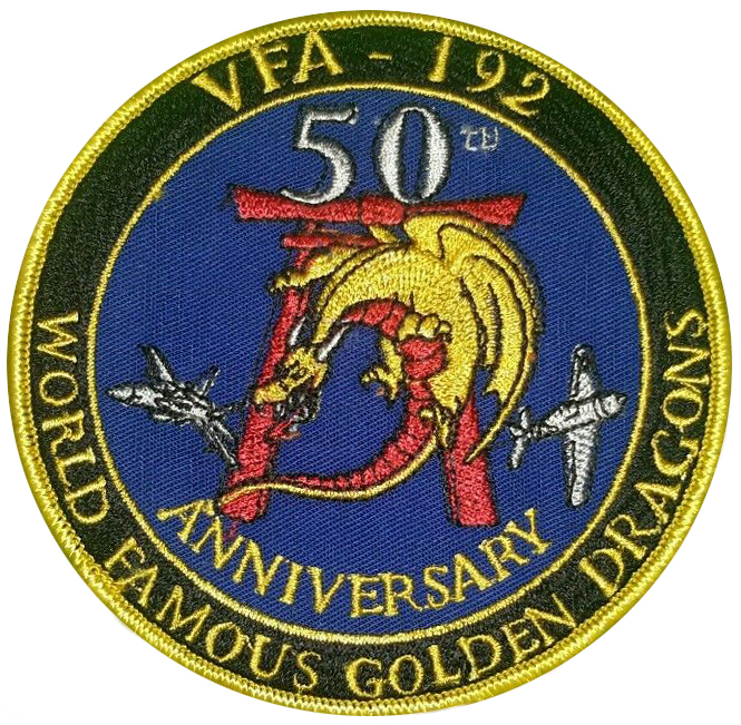 VA-192 Golden Dragons 50th